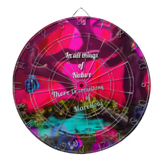 All things of Nature inspire us to dream Dartboard