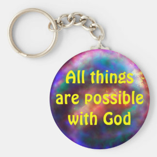 all things possible keychain
