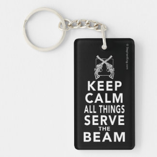 All Things Serve The Beam Key Ring