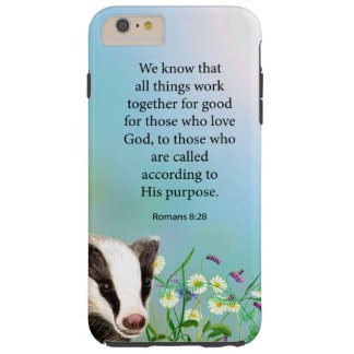 All Things Work Together For Good Romans 8:28 Tough iPhone 6 Plus Case