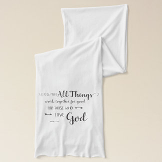 All Things Work Together - Rom 8:28 Scarf
