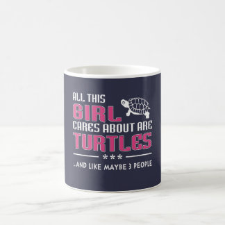 All This Girl Cares About Are Turtles Coffee Mug