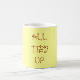 All Tied Up coffee mug