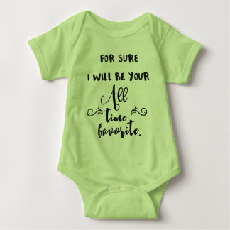 All time favourite baby bodysuit