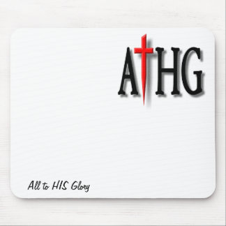 All to HIS Glory mousepad