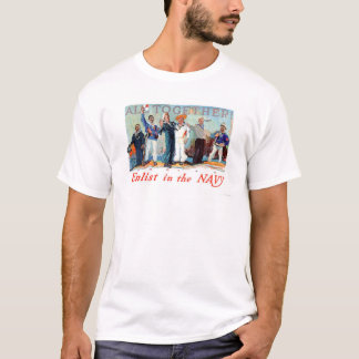 All Together!  Enlist in the Navy (US02280B) T-Shirt