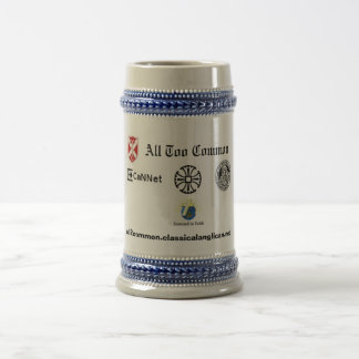 All Too Common Beer Stein Mugs