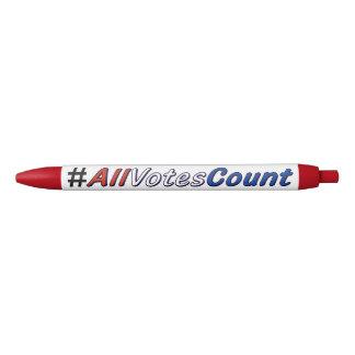All Votes Count Custom Pens