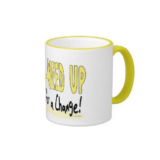 All Wee-Weed Up Baby Barack Obama Coffee Mug