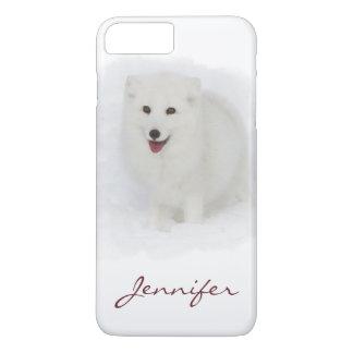All White Arctic Fox iPhone 8 Plus/7 Plus Case