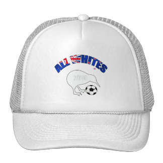 All Whites Kiwi Soccer Football fans gifts Cap