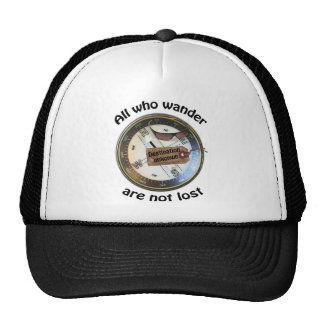 all who wander hat