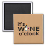 All Wine, All the Time Square Magnet