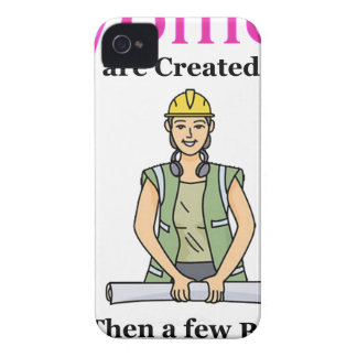 All Women Are Created Equal Then a Few Become Engi iPhone 4 Case-Mate Case