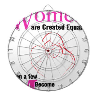 All Women Are Created Equal Then a Few Become Moth Dartboard