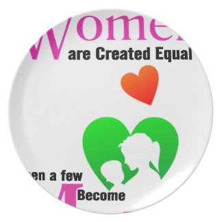 All Women Are Created Equal Then a Few Become Moth Plate