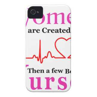 All Women Are Created Equal Then a Few Become Nurs iPhone 4 Case-Mate Cases