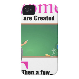 All Women Are Created Equal Then a Few Become Teac iPhone 4 Case-Mate Cases