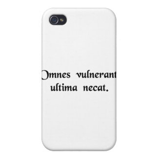 All wound, the last kills. cases for iPhone 4