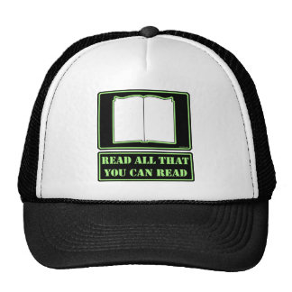 All You Can Read Mesh Hat
