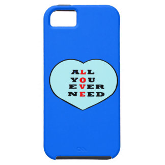 All You Ever Need Love, in a heart, iPhone 5/5S Case