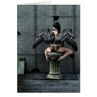 All You Get Gothic Art Greeting Card