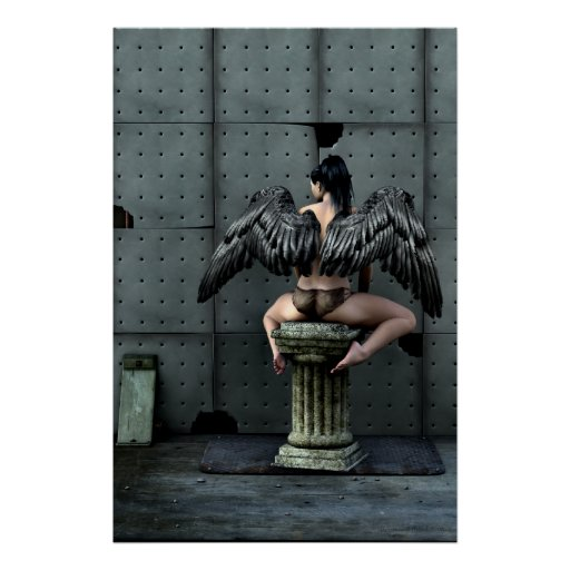 All You Get Gothic Art Poster