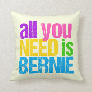 All You Need is Bernie Cushion