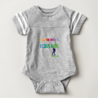 All You need Is Ecuador_Travel Baby Bodysuit