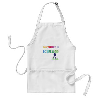 All You need Is Ecuador_Travel Standard Apron