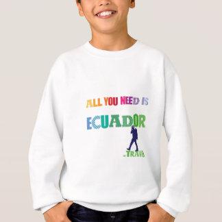 All You need Is Ecuador_Travel Sweatshirt