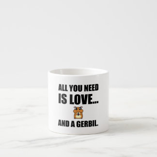 All You Need Is Love And A Gerbil Espresso Cup
