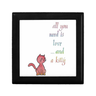 All You Need Is Love and a Kitty Trinket Box