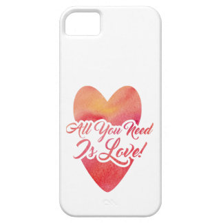 all-you-need-is-love barely there iPhone 5 case