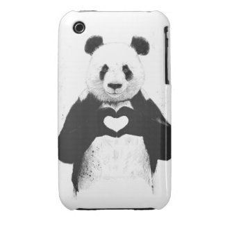 All you need is love iPhone 3 Case-Mate cases