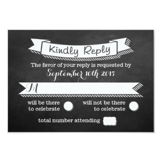 All You Need Is Love Chalkboard Wedding Collection Card