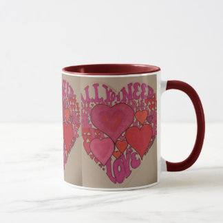 All You Need Is Love Heart Mug
