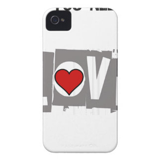 All You Need is Love Is all You Need Case-Mate iPhone 4 Cases