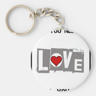All You Need is Love Is all You Need Key Ring