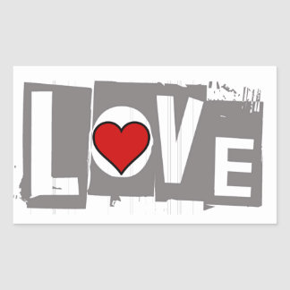 All You Need is Love Is all You Need Rectangular Sticker