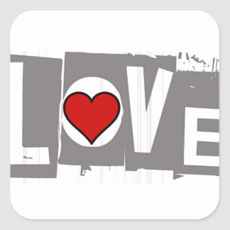 All You Need is Love Is all You Need Square Sticker