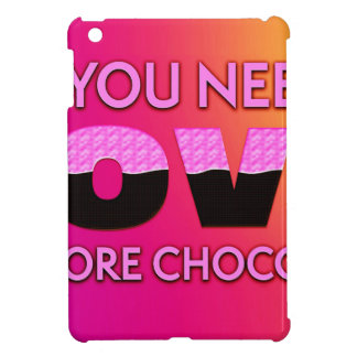 All you need is love or more chocolate cover for the iPad mini