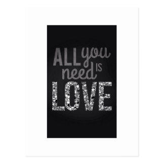 All You Need is Love... Postcard