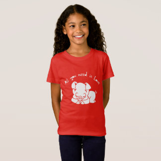 All you need is love, quote T-Shirt