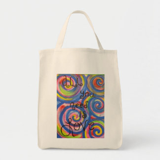'All You Need is Love' Tote