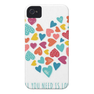 all you need IS love You only needs love Case-Mate iPhone 4 Cases