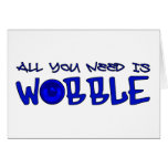 All you need is Wobble DUBSTEP BASS Greeting Cards