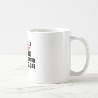 All You Need Love IRISH WOLFHOUND Dogs Designs Coffee Mug