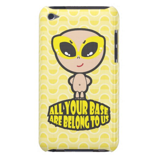 All Your Base Are Belong To Us iPod Touch Case-Mate Case