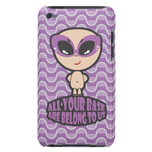 All Your Base Are Belong To Us iPod Touch Case